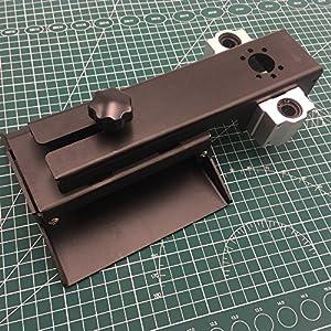 WillBest 1pcs Aluminum D7 VAT IncrediVat D7 Resin Tank Black Color Resin Tank for DIY Wanhao Duplicator 7 DIY SLA DLP 3D Printer by WillBest