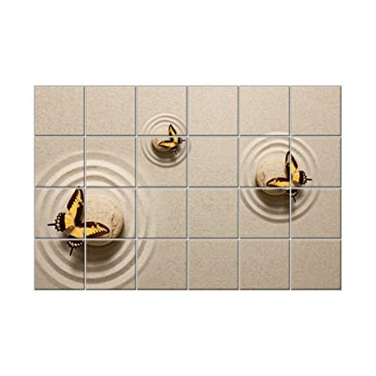 NISH! \'Beach\' Collection   Bathroom Floor Tiles   Decorative Wall ...