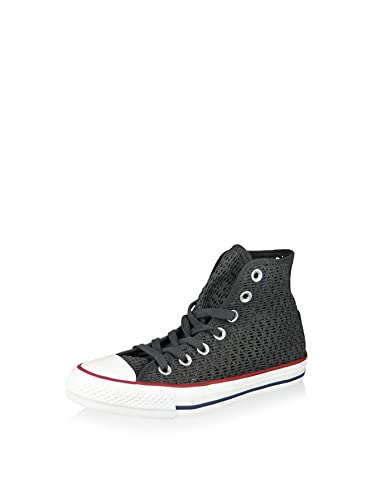 Converse Damen Chuck Crochet Taylor All Star Crochet Chuck Hightop Sneaker, Grau ... 9d0464