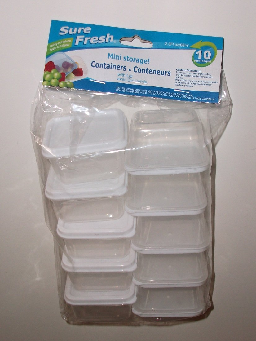 Amazoncom Sure Fresh mini storage container with lid 23 Fl Oz