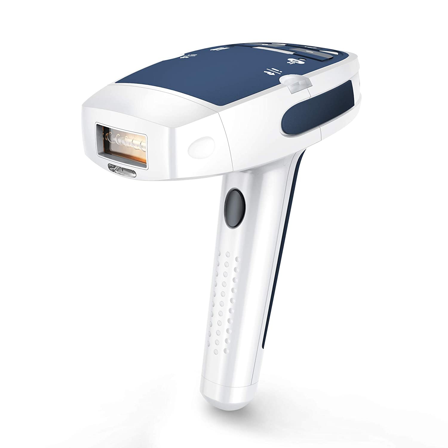 LIOKEN IPL Hair Removal System, Painless Permanent IPL Hair Removal Device for Women & Man, 5 Levels for Different Skin, 300000 Flashes Professional Light Epilator