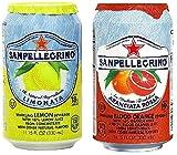 italian blood orange soda - San Pellegrino Sparkling Beverage, Lemon, Blood Orange Variety, 11.15 fl oz., 12 count