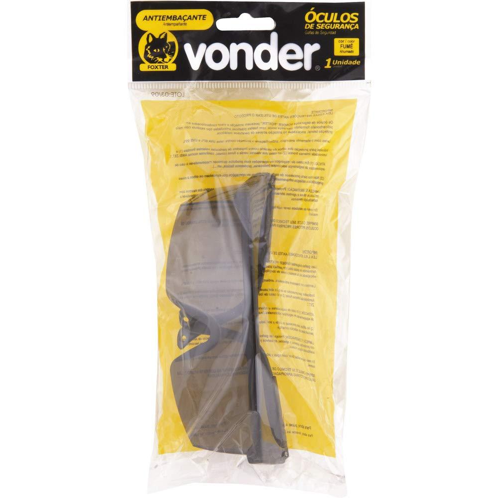Óculos de Segurança Foxter Antiembaçante Fumê, Vonder VDO2464   Amazon.com.br  Ferramentas e Construção 522585a3f0