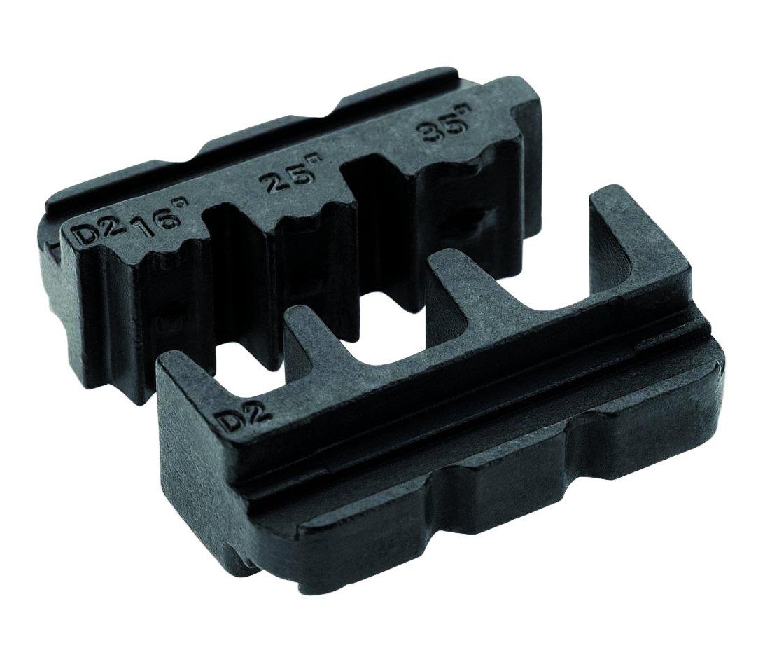 Cimco 106014 10 6014 Einsatz fü r Aderendhü lsen 16-35qmm, Schwarz