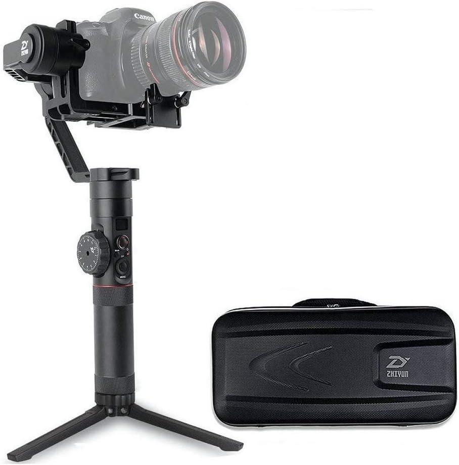 حامل كاميرا احترافي يدوي بثلاثة محاور وعجلة تركيز من زيون