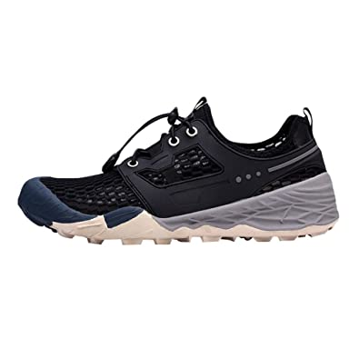 Kairuun Mens Quick Dry Shoes Running Trainers Casual Mesh Athletic Walking Gym Shoes Sport Run Shoes