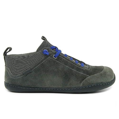 es Botín Zapatos Y Complementos Amazon Serraje Cordones Gris qT64Z