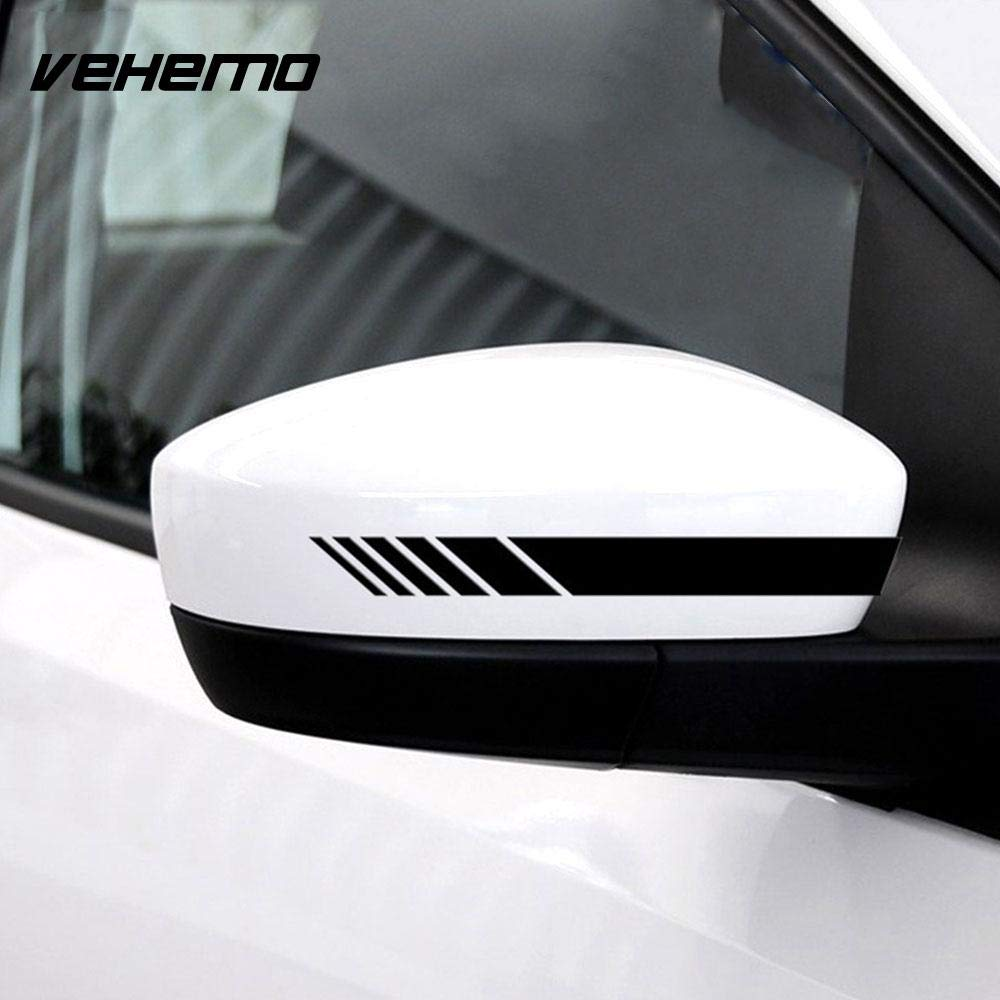 Vehemo black reflective vehicle decal cute car car sticker window glass reflective sticker funny rear windshield color name black amazon in car