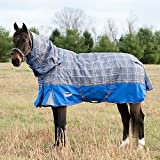 Weatherbeeta Comfitec Premier Free Detach-A-Neck Heavy Grey Plaid 81''