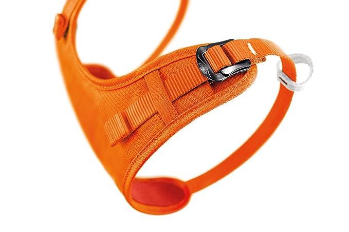 Petzl Simba Klettergurt : Petzl climbing harness for kids body orange size one