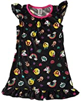 Girls' Flutter Sleeve Graphic Sleep Night Gown