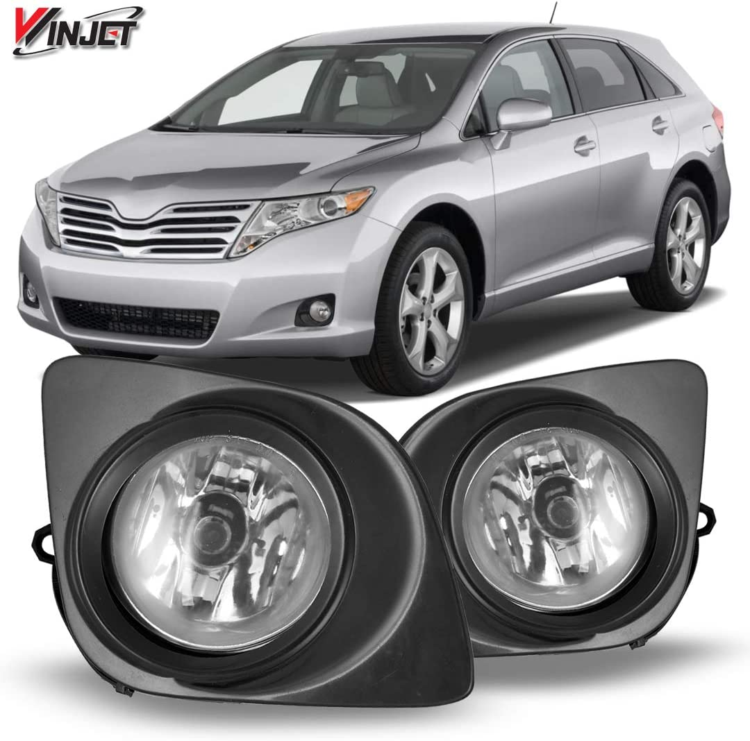 Winjet OEM Series for [2009 2010 2011 2012 2013 2014 2015 Toyota Venza] Driving Fog Lights + Switch + Wiring Kit