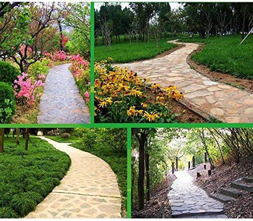XF Pavimentación de moldes para Pisos de jardín Productos de plástico al Aire Libre de adoquines de Cemento de adoquines Antiguos Diseño de pavimento al Aire Libre: Amazon.es: Hogar