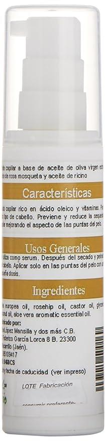 Notaliv Cosmética Natural Aceite capilar rosa mosqueta/ricino - 60 ml: Amazon.es: Belleza