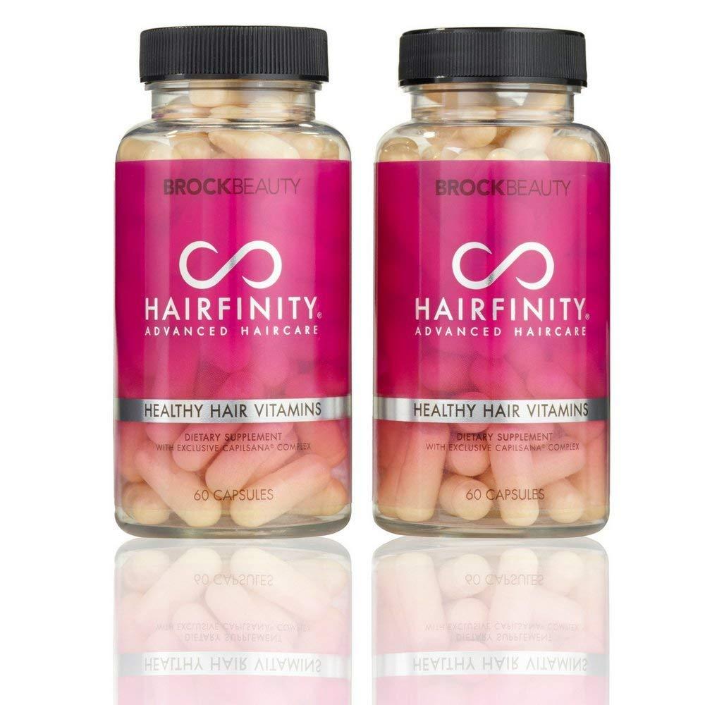Hairfinity Healthy Hair Vitamin Capsules 60 ea (Pack of 2)
