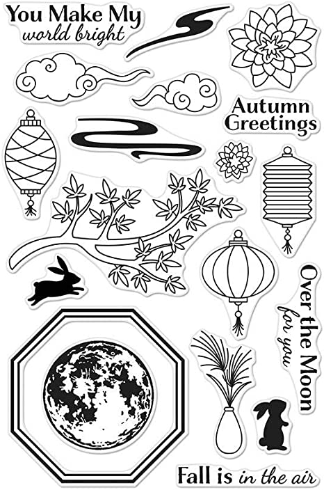 from The Vault Celestial Hero Arts CM357 Clear Stamps