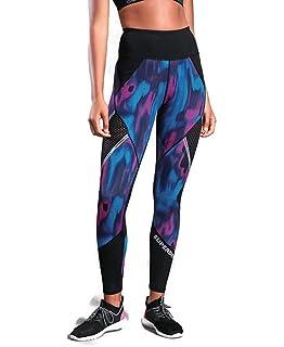 Superdry Flash Sport City Legging pour Femme Bleu W40