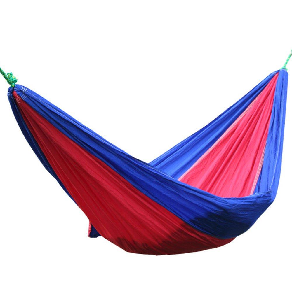 Zhongsufei Leichte Camping Hängematte mit Einkaufstasche Outdoor Indoor Home Sleeping Swing Double Adult