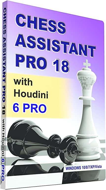 Chess Assistant 18 PRO with Houdini 6 Pro     - Amazon com
