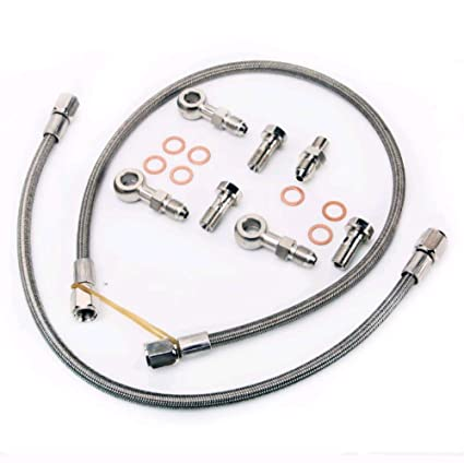 Amazon.com: Turbo Oil Feed Line Kit 6G72T Mitsubishi 3000GT Dodge Stealth Twin TD04: Automotive
