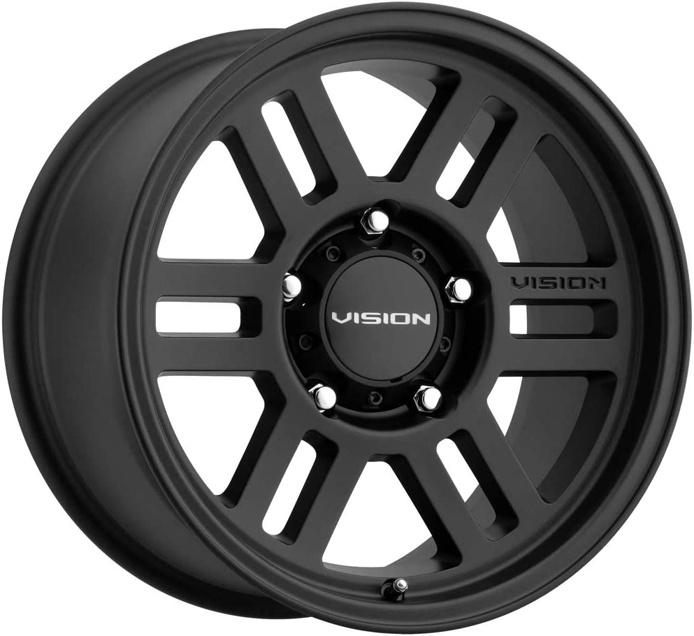 Vision 354 Manx 2 17x9 5x5-12mm Gunmetal Wheel Rim 17 Inch
