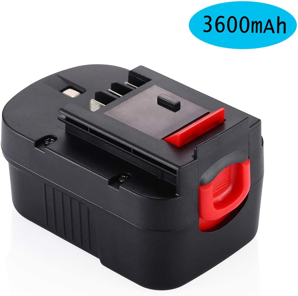 Upgraded Powerextra 14.4V 3600mAh High Capacity HPB14 Battery Compatible with Black & Decker 14.4v HPB14 Firestorm 499936-34 499936-35 FSB14 A14 BD1444L HPD14K-2 CP14KB HP146F2 CDC140AK