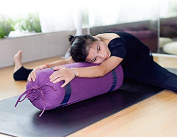 LUCKY-U Yoga Bolster, Soporte De Yoga, Cómodo para Sostener ...