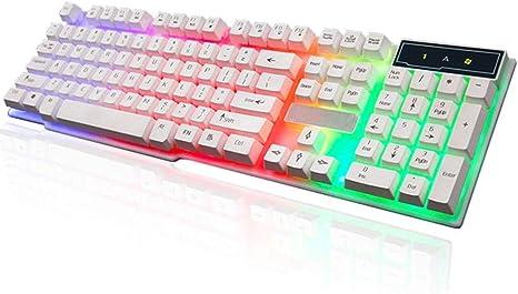 OFNMD Soft Panel táctil ABS Panel Teclado Computadora de ...