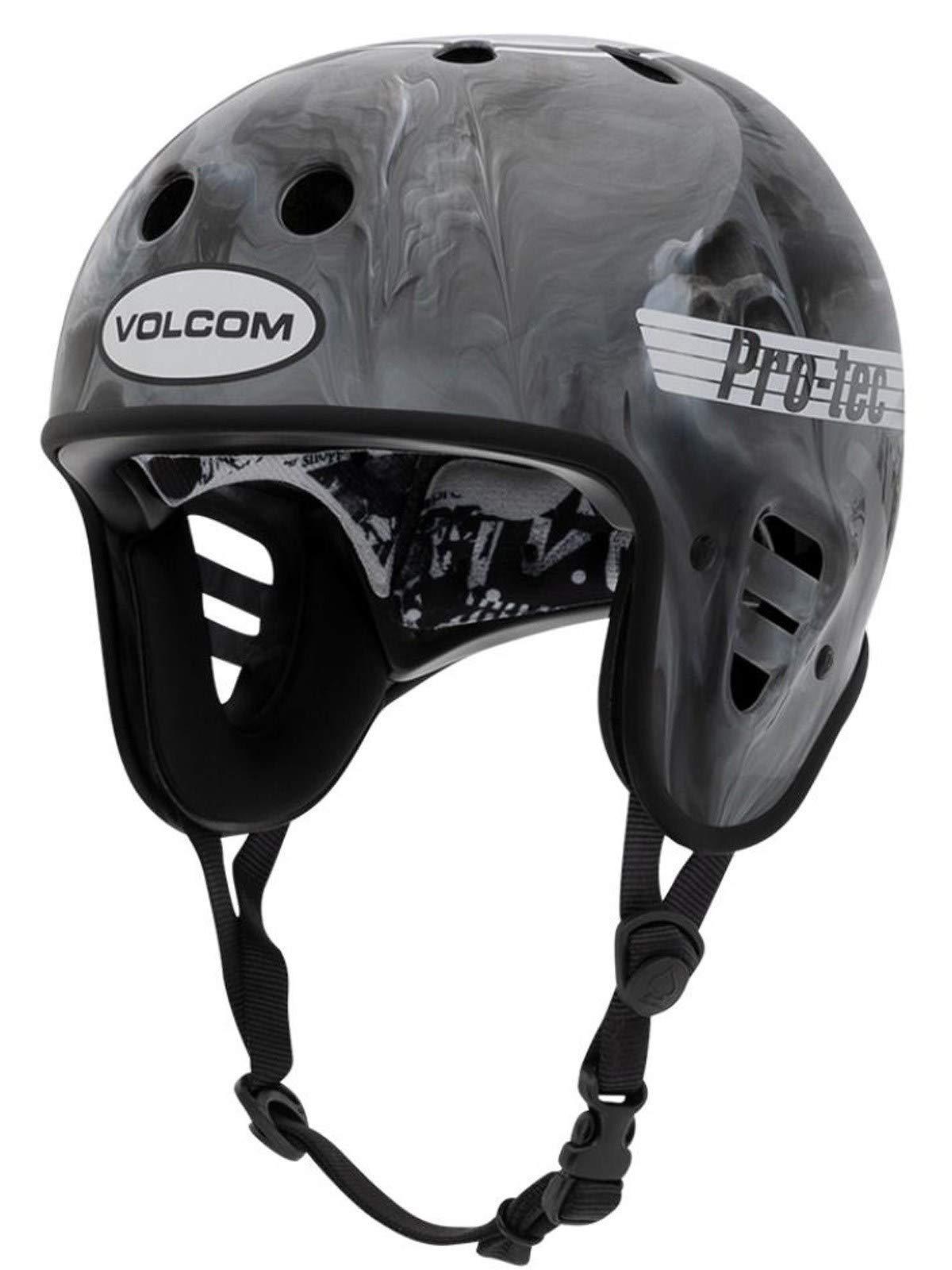 Pro-Tec Volcom Cosmic Matter Full Cut Cert Skateboarding Helmet (M, Grey)
