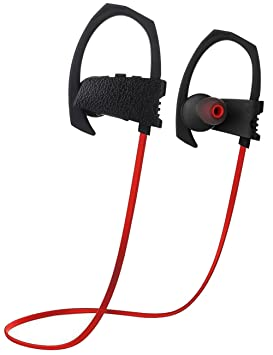 Adore Center Wireless Bluetooth Auriculares In-Ear, auriculares Bluetooth 4.1 Inalámbrico, resistente al