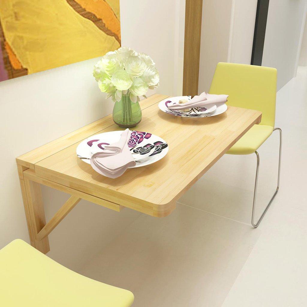 ソリッドウッド折りたたみテーブルダイニングテーブル壁掛けデスクコンピュータデスクサイドテーブル壁掛けデスク ( サイズ さいず : 100cm*50cm ) B07BTMXT9F 100cm*50cm 100cm*50cm