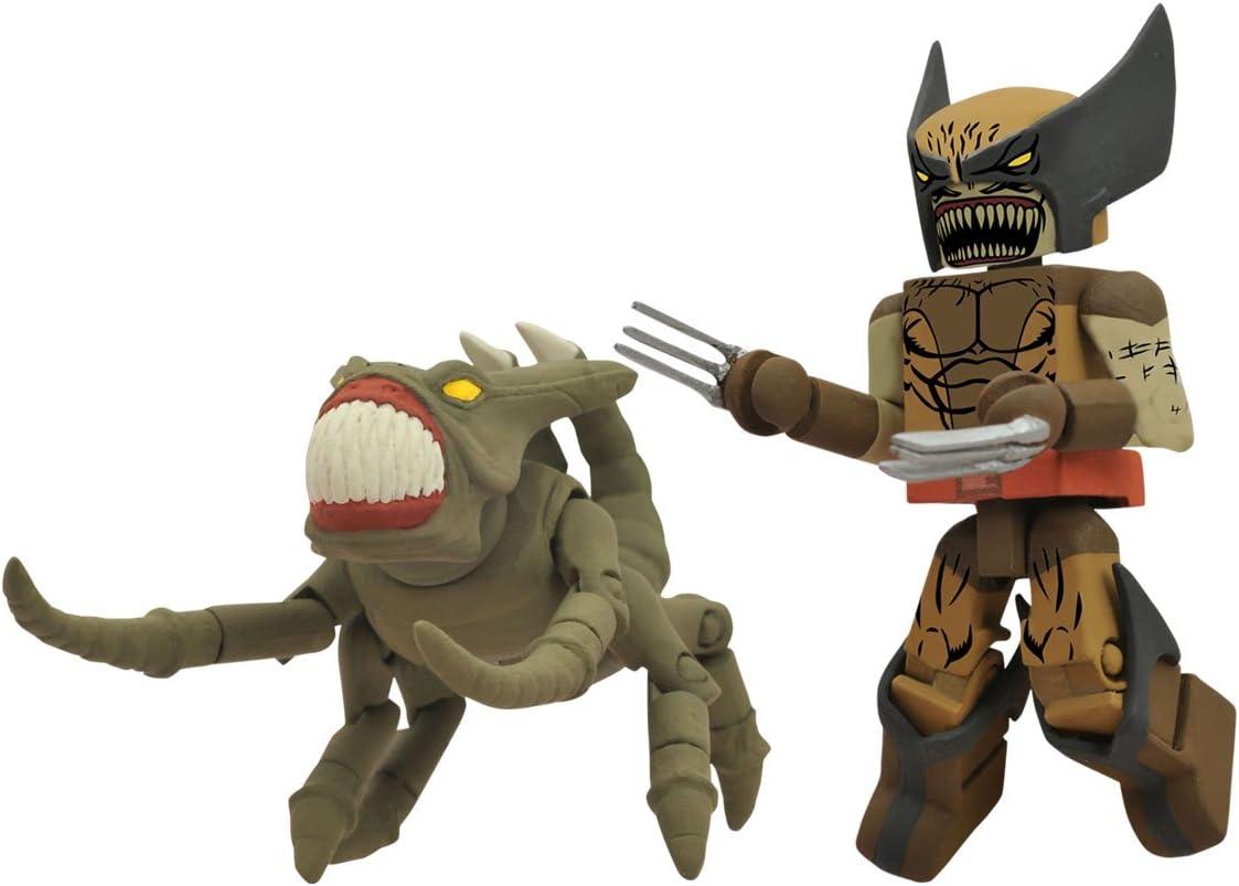 Marvel Minimates Series 47 Infected Brood Wolverine Variant