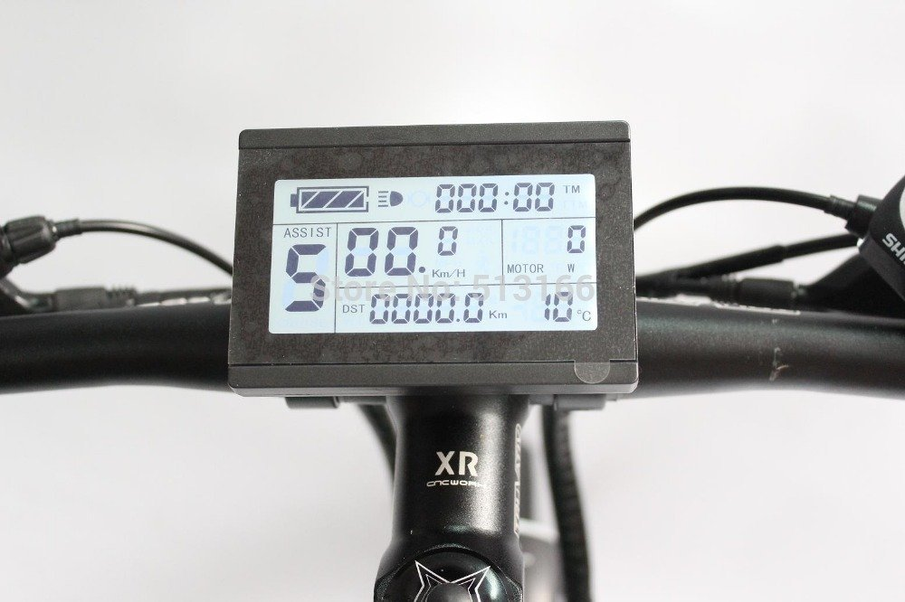 NBPower Intelligent LCD Control Panel Display for 72V E-Bike kit//Electric Bicycle Bike Parts