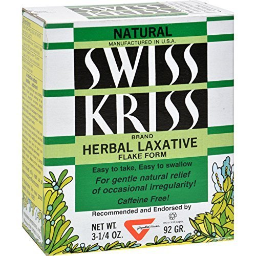Kriss Laxative Swiss Products Modern (Modern Products Swiss Kriss Laxative Flakes (1x3.25 Oz) by Modern Products)