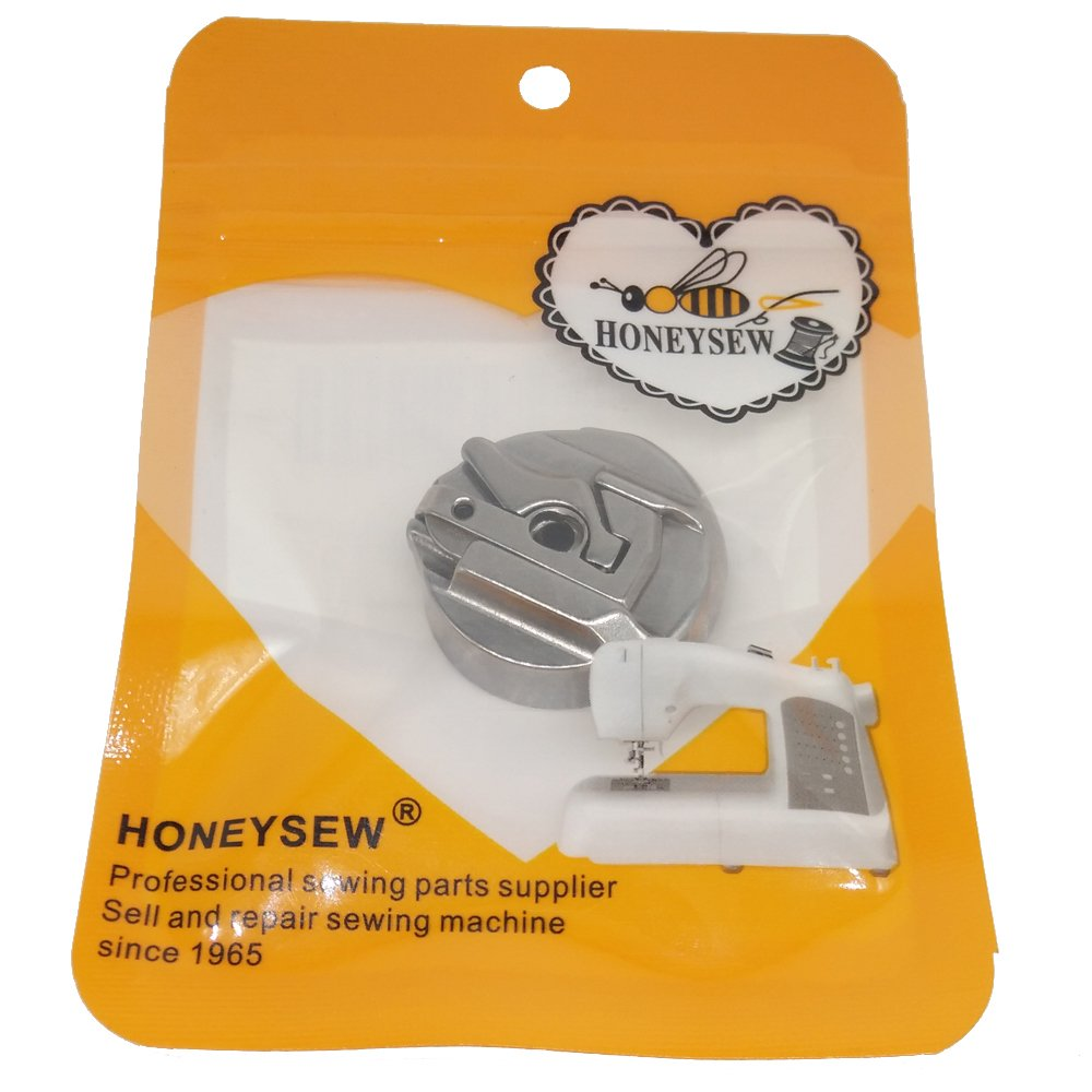 HONEYSEW BC-HR221 45751 Bobbin Case for Singer Featherweight Sewing Machines 221 222 301 /& 301A JC-HR221