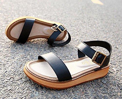 Zapatos mujer KUKI 001 planos de Sandalias qRnRxFAY