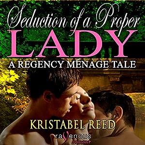 Seduction of a Proper Lady Audiobook