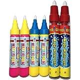 Aquadoodle Pens Replacement Water Mats Drawing Pens for Kids Aqua Doodle Drawing Mat 6 Pieces (Random Colors)