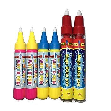 Amazon.com: Aquadoodle plumas esteras Rotuladores para niños ...