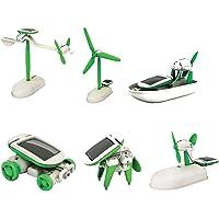 Güneş Enerjisi İle Çalışan Robot Solar Kit (6 in 1)
