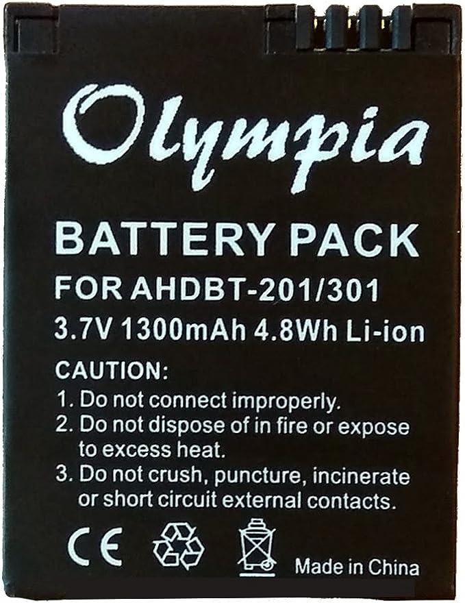 301 Caméra Chargeur de batterie double pour GoPro Hero 3 III 601-00724-00 ACHDHN