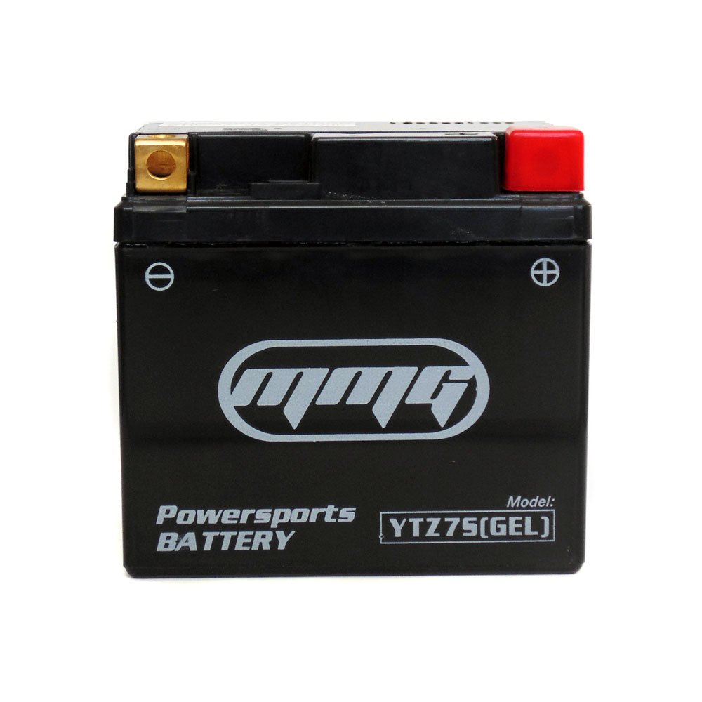 MMG YTZ7S 12v Gel Cell Non Spillable Activated Scooter Battery, Compatible with Honda Metropolitan Ruckus Elite Aero PCX125 PCX150 by MMG