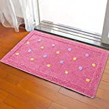 Door mat door mat door bathrooms in the Hall toilet bathroom mat absorbent bathroom mat rug mat Red