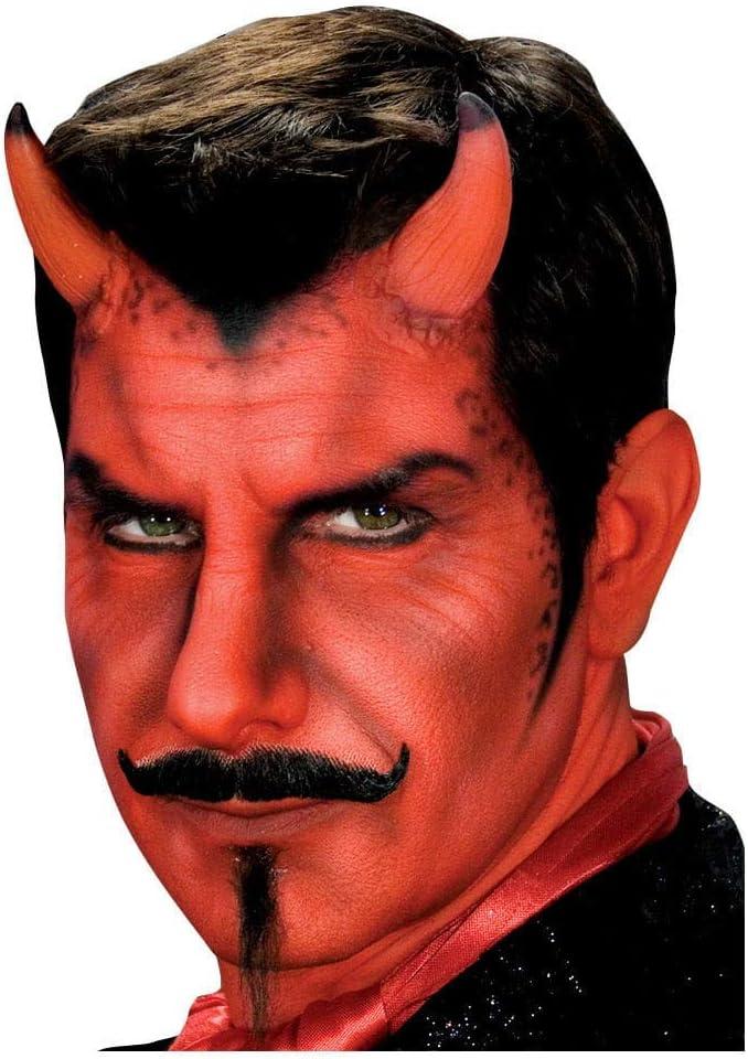 DIAVOLO CORNA DIAVOLO CORNA CON COLLA Satana corna demone lattice Corni Halloween