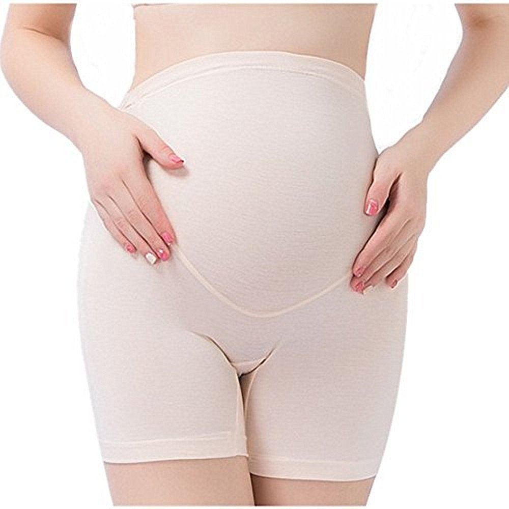 Tremour Womens Soft and Seamless Pregnancy Boyshorts Maternity Shapewear