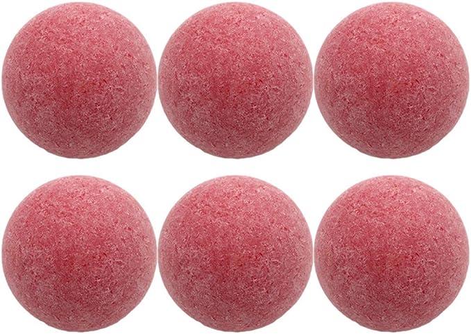 8 Piezas 36mm Futbolín Futbolines Juego Scrub Reemplazo Juego de Mesa Oficial Balones de fútbol Rojo: Amazon.es: Deportes y aire libre