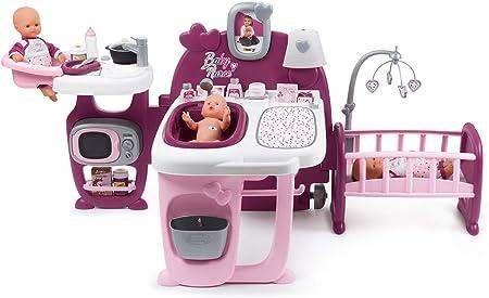 Amazon.es: Smoby 220349 La Casa de Los Bebés Baby Nurse para ...