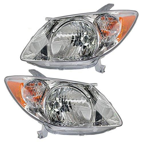 Headlight Pontiac Vibe Pontiac Vibe Headlights