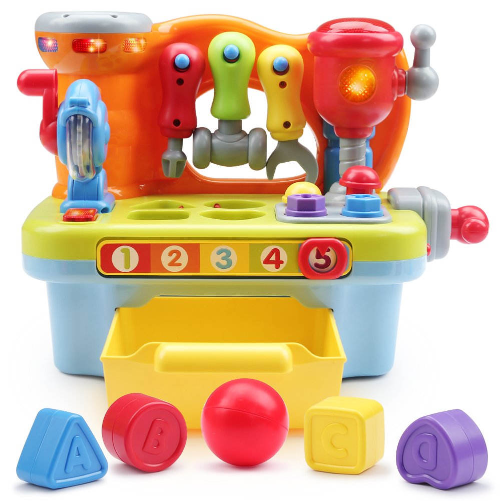 Toyk Multifunctional music Learn Toolbox kids electronic Puzzle education toys