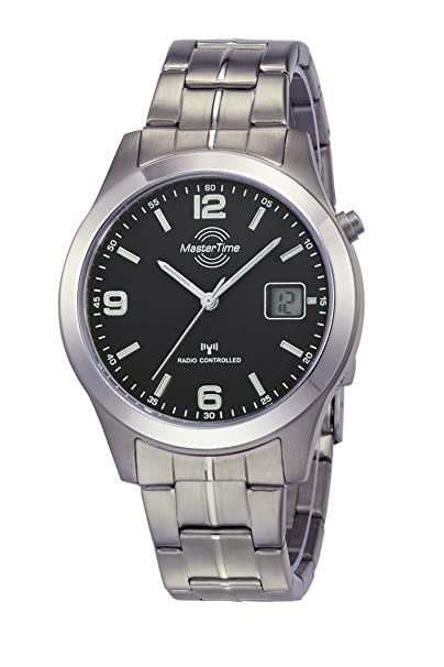Quarz Armband Uhr Herren 22m Funk Analog Master Mtgt Digital 10349 Time Mit Titan SLzpjqGUMV